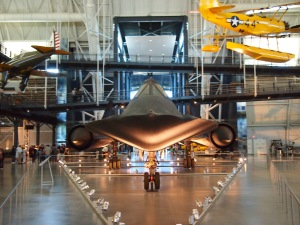 SR-71 Blackbird (Mach 3 secret spy plane!)
