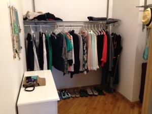 Massive closet!  A nice surprise