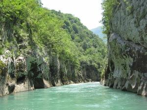 Emerald water